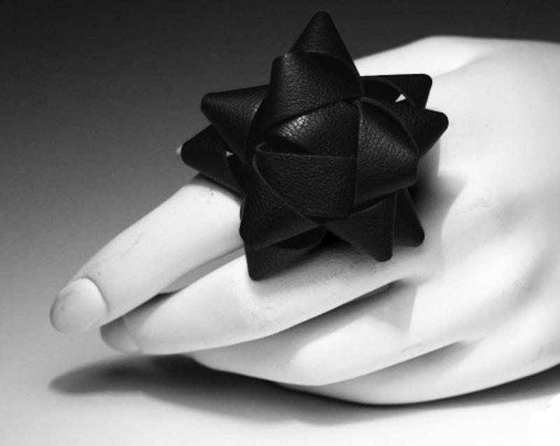 Leather-Origami-Ring