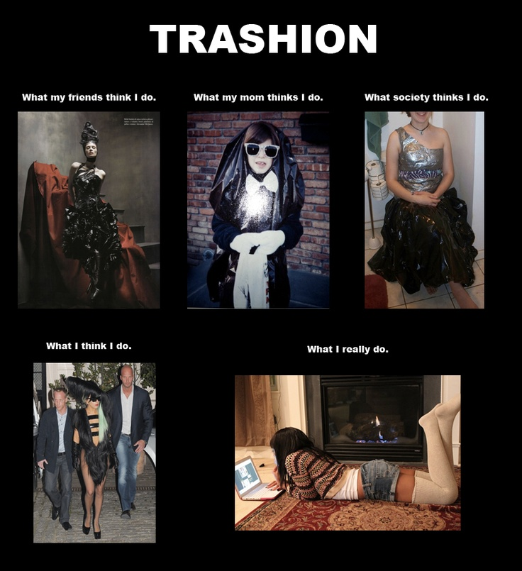definition of trashion