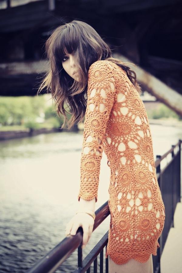 crochet dress gown 4