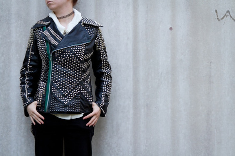 studded jacket by hirviomur 2