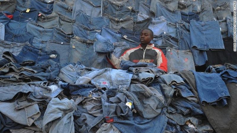 Vaatteiden kierrätys 2016
