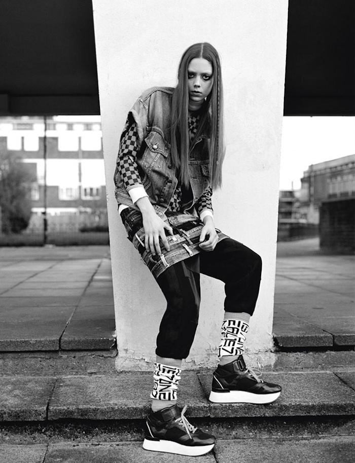 Nathalie Westling by Richard Bush for i-D Magazine Spring 2014 1