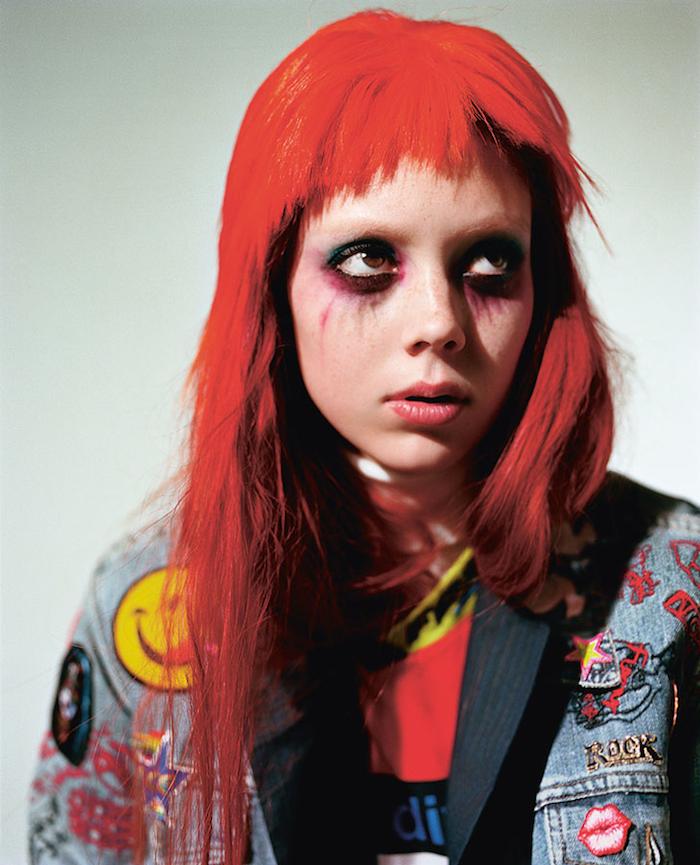 Nathalie Westling by Richard Bush for i-D Magazine Spring 2014 6