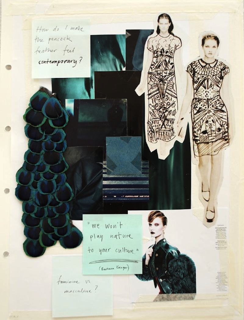 fashion drawing moodboard 2