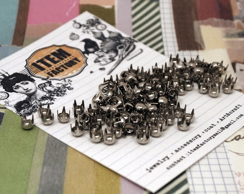 metal studs sortment etsy 9