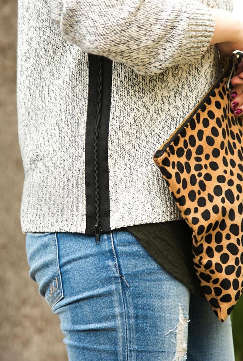 zipper sweater 1