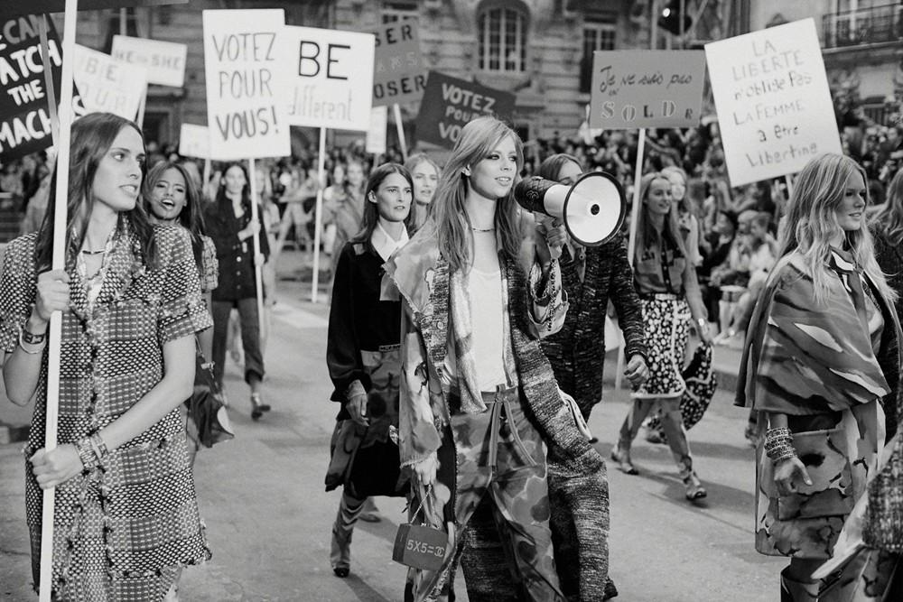 Chanel SS15 feminism 2