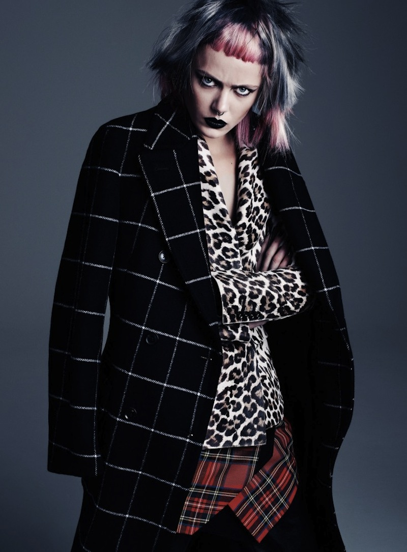 Frida-Gustavsson-by-Steven-Pan-Punk-Attitude-Flair-6-Fall-2013-10-735x997
