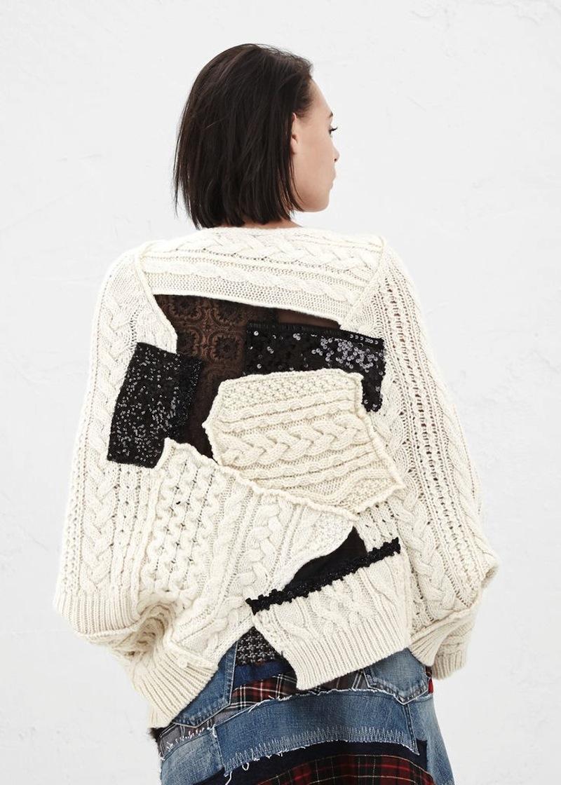 Junya Watanabe Fall 2014 knitwear 7