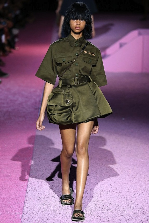 Marc Jacobs SS2015 army styling 5