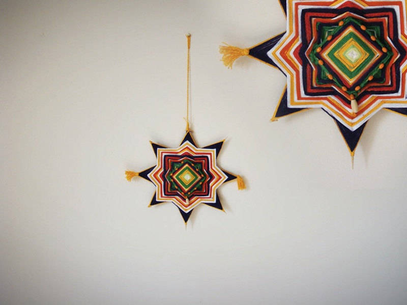 The Ojo de Dios Gods Eye weawing crafts 2