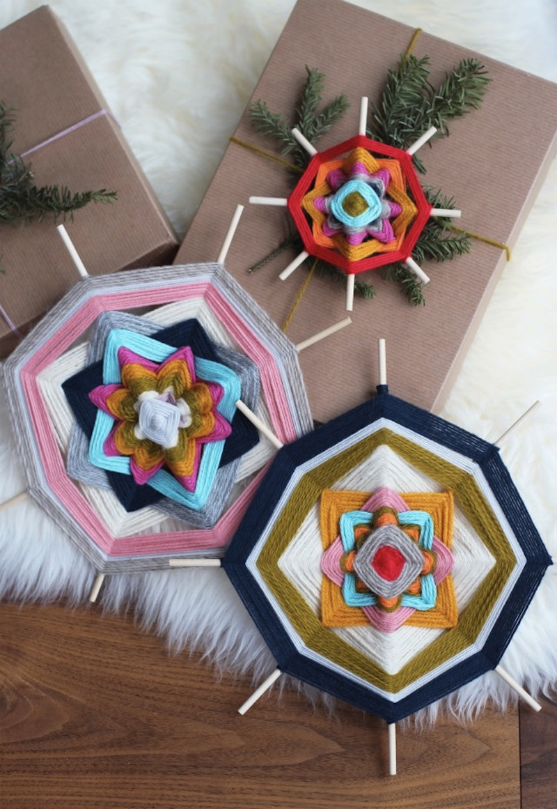 The Ojo de Dios Gods Eye weawing crafts 6