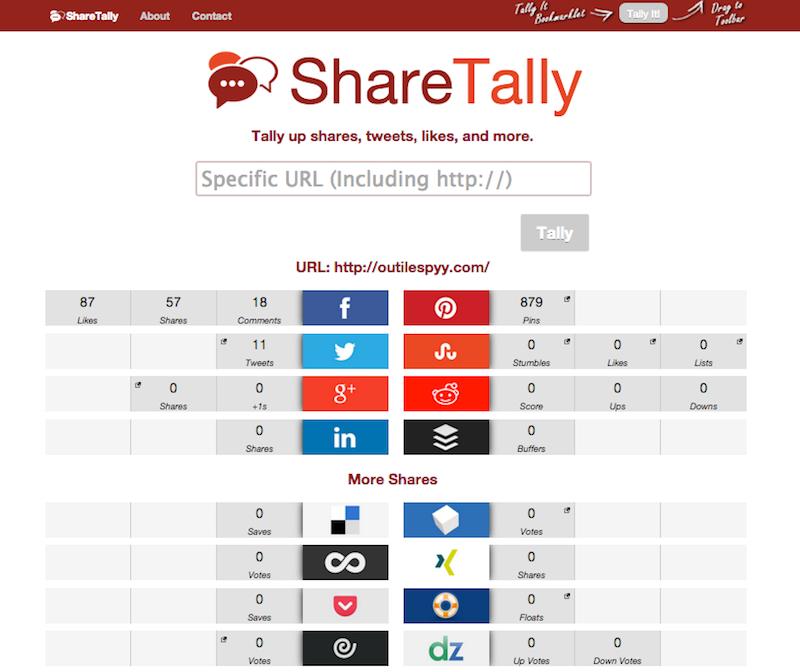 share tally outilespyy