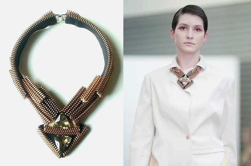 Reborne-Jewelry-art-nouveau-zipper-necklace-2012