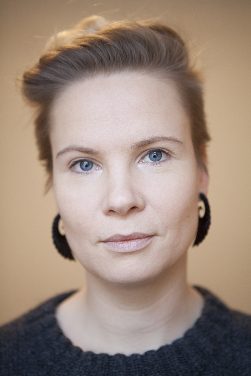 Outi Pyy portrait (2014) by Juha Arvid Helminen