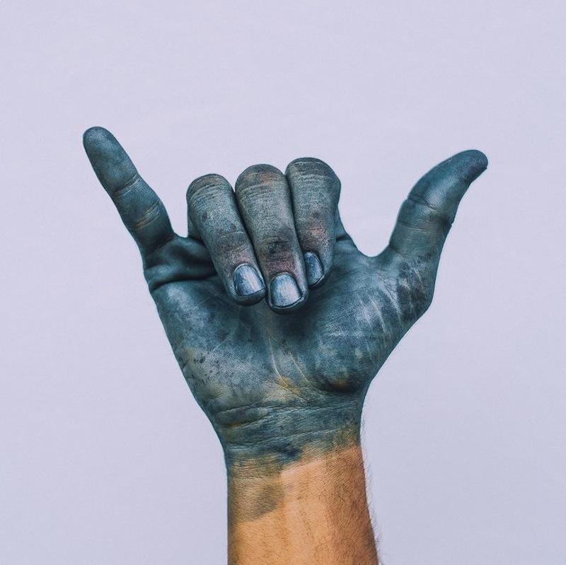 shibori indigo tye dye 10