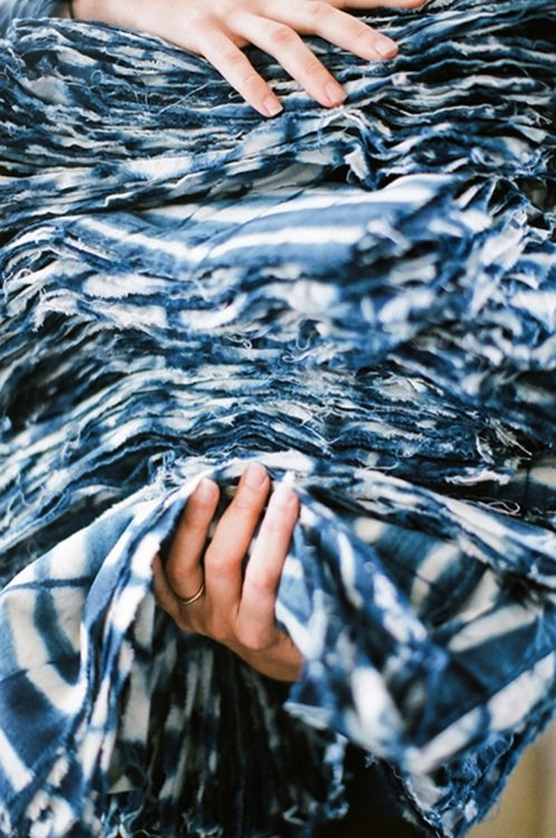 shibori indigo tye dye 9