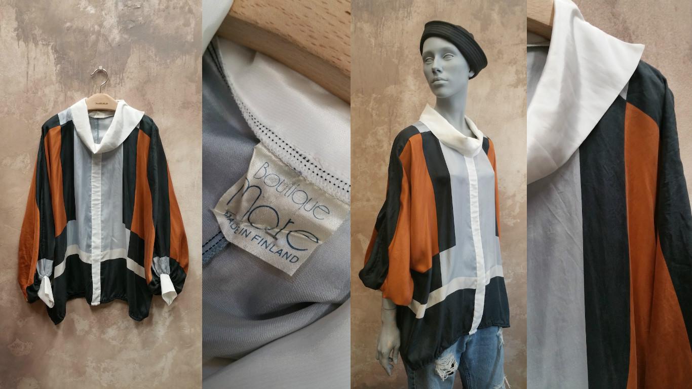 Zadaa app silk shirt collage