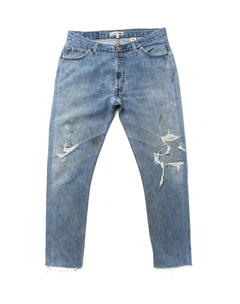 ReDone altered levis 501 31SS127579F